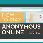 Инфографика: Как оставаться анонимным в сети 2014