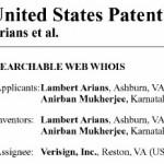 Verisign хочет запатентовать «Searchable Web Whois»