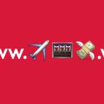 Норвежские Авиалинии использовали домен .WS чтобы сделать адрес сайта из смайликов