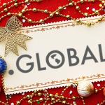 Рождественский календарь 2015 с доменом .GLOBAL