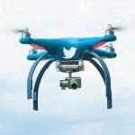 Twitter решил запатентовать новый способ управления дронами