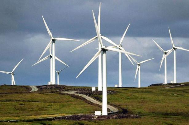 ветрогенераторы в шотландии